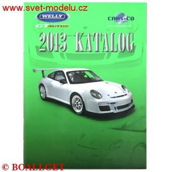 KATALOG WELLY 2013 CARS AND CO A4/16 stran