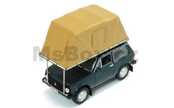 LADA NIVA WITH ROOF TENT 1981 GREEN
