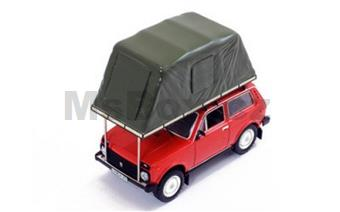 LADA NIVA WITH ROOF TENT 1981 RED