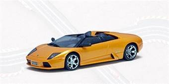LAMBORGHINI MURCIELAGO ROADSTER (METALLIC ORANGE)---WITH LIGHTING LAMPS