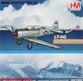 LT-6G 6148 TACTICAL CONTROL SQUADRON AIRBORNE LTA-542 KOREA 1953