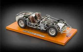 MASERATI 300S 1956 ROLLING CHASSIS LIMITED EDITION 3000PCS.