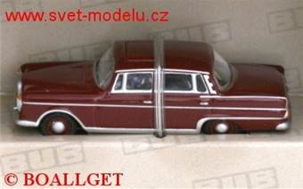 MERCEDES-BENZ 220 SE DARK RED