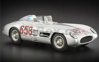 MERCEDES-BENZ 300 SLR MILLE MIGLIA #658 FANGIO LIMITED EDITION 2000 PCS.