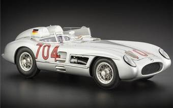 MERCEDES-BENZ 300 SLR MILLE MIGLIA #704 HERMANN LIMITED EDITION 2000 PCS.