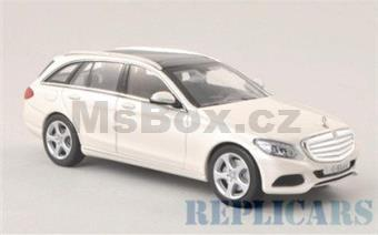MERCEDES-BENZ C-CLASS T-MODEL S205 2014 WHITE