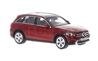 MERCEDES-BENZ GLC C253 2016 RED