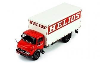 MERCEDES-BENZ L 1113 HELIOS 1970 RED/WHITE
