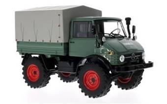 MERCEDES-UNIMOG 406 DARK GREEN WITH COVER