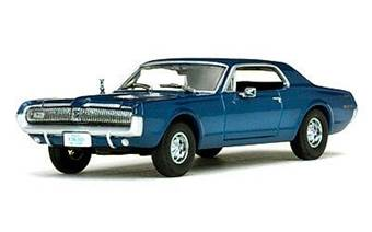 MERCURY COUGAR 1967 NORDIC BLUE
