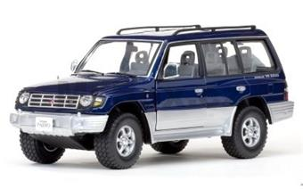MITSUBISHI PAJERO 3,5 V6 LONG 1998 BLUE