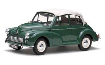 MORRIS MINOR 1000 TOURER 1963 CONVERTIBLE GREEN LIMITED EDITION 1500 PCS.