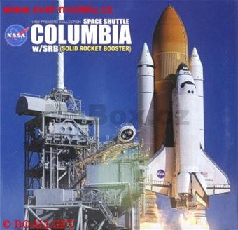 NASA SPACE SHUTTLE COLUMBIA W/SRB SOLID ROCKET BOOSTER