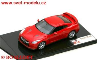 NISSAN GT-R R35 2007 RED