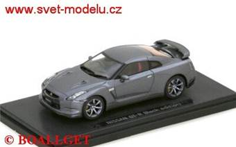 NISSAN GT-R (R35) BLACK EDITION 2007 GREY