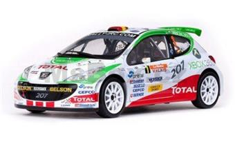 Peugeot 207 S2000 #1 E.G Ojeda/J.Barrabes 2nd Rallye International du Valais 2007 IRC DRIVER CHAMPION LIMITED EDITION 789 PCS.