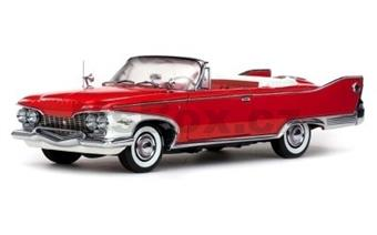Plymouth Fury 1960 closed convertible vailiant red