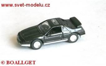 PONTIAC FIERO GT 1985 BLACK