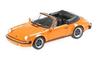 PORSCHE 911 CARRERA CABRIOLET 1983 ORANGE L.E. 1008 pcs.