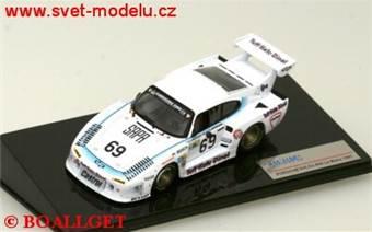 Porsche 935 K3 No.69 J. Lundgardh - M. Wilds - A. Plankenhorn Le Mans 1981