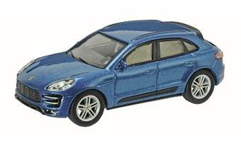 PORSCHE MACAN TURBO BLUE