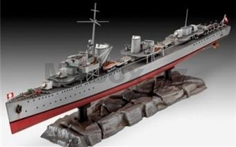 REVELL 05141 GERMAN DESTROYER TYPE 1936