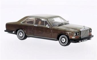 ROLLS ROYCE CAMARQUE 1975 GOLD/BROWN