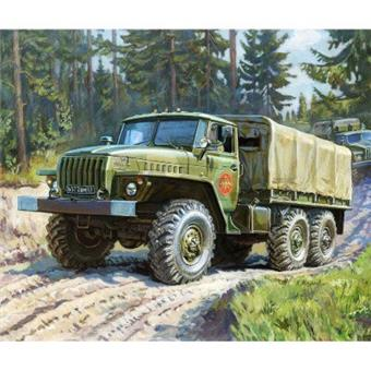 RUSSIAN ARMY TRUCK URAL 4320
