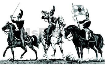 RUSSIAN DRAGOON COMMAND GROUP
