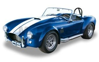 SCHELBY COBRA 427 1965 BLUE
