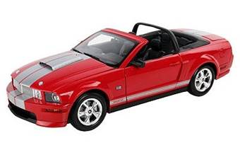 SHELBY GT CONVERTIBLE 2008 RED