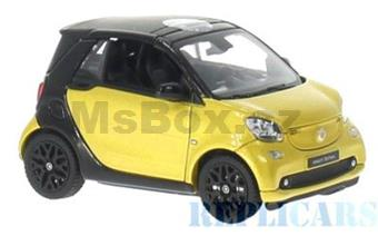 SMART FOR TWO A453 CONVERTIBLE YELLOW / BLACK