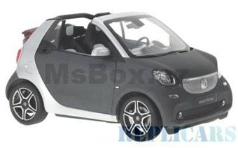 SMART FOR TWO CONVERTIBLE A453 GREY / SILVER
