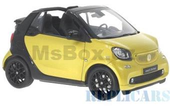 SMART FOR TWO CONVERTIBLE A453 YELLOW / BLACK