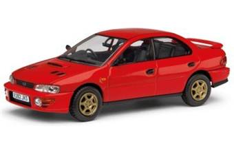 Subaru Impreza Turbo UK Type D RHD red