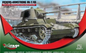 TANK VICKERS-ARMSTRONG Mk. F/45