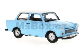 TRABANT 601 S DE LUXE LIGHT BLUE / WHITE