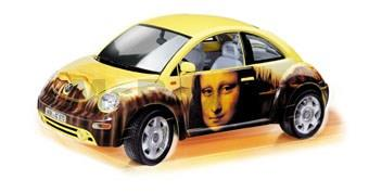 Volkswagen New Beetle Gioconda Beetlemania 1998 kit