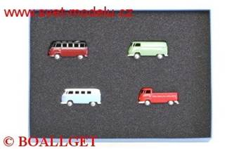 VOLKSWAGEN T4 4-SET JAHRESET 2009 LIMITED EDITION 1000 PCS.