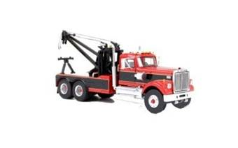 WHITE ROAD BOSS TOW TRUCK 1977 RED / BLACK