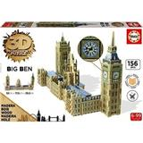 BIG BEN A PARLAMENT 3D PUZZLE EDUCA 16971 WOOD