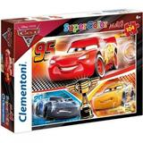 CARS 3 PUZZLE CLEMENTONI 23706 104 dílků MAXI SUPER COLOR