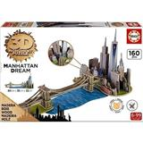 MANHATTAN 3D PUZZLE EDUCA 17000 WOOD
