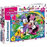 MINNIE PUZZLE CLEMENTONI 23708 104 dílků MAXI SUPER COLOR