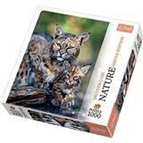 PUZZLE TREFL 10513 1000 dílků RYS LIMITED EDITION NATURE