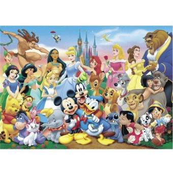 THE WONDERFUL WORLD OF DISNEY PUZZLE EDUCA 11978 1000 dílků