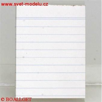 Blok 17054 eko - A7 linkovaný, 50 listů