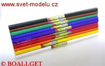 Krepový papír sada 10 intenzivních barev 50 x 200 cm