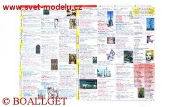 Tabulka Výtvarná výchova a Přehled dějin výtvarného umění