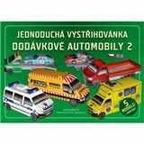 Vystřihovánka Dodávkové automobily 2 - 5 modelů